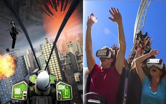 شهربازی واقعیت مجازی